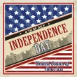 American Independence Day poster — Stock Vector #47359511