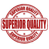 Superior quality stamp — Stock Vector