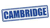 Cambridge stamp — Stockvektor
