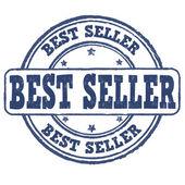 Melhor selo de vendedor — Vetor de Stock