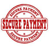 марка безопасных платежей — Cтоковый вектор