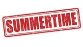 Summertime stamp  — Vetorial Stock