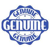 Genuine label or stamp — Vetorial Stock