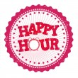 Happy hour stamp — Stock Vector #49147317