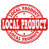 Local product stamp — Stock Vector