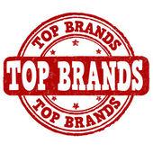 лучшие бренды штамп — Cтоковый вектор