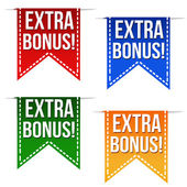 Extra bonus ribbons — Stock Vector