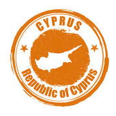 Cyprus stamp — Stock Vector