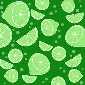Lemons background texture — Stock Vector