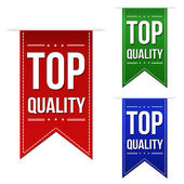 Top quality banner design set  — Stockvektor