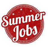 Summer jobs stamp — Vecteur
