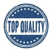 Label de qualité supérieure — Vecteur