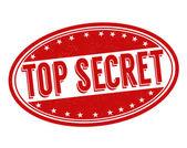 Razítkem přísně tajné — Stock vektor