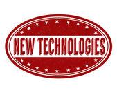 New technologies stamp — Stockvector