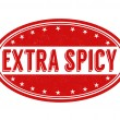 Spicy stamp — Stock Vector