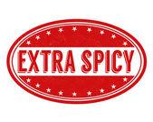 Spicy stamp — Vector de stock