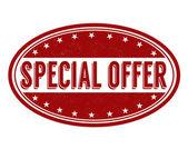 Oferta especial sello — Vector de stock