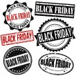 Black friday stamps set — Stock Vector #51124935