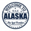 Welcome to Alaska stamp — Stock Vector #51156971