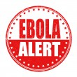 Ebola allert stamp — Stock Vector #51162033