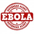 Ebola stamp — Stock Vector #51162141