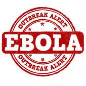 Ebola stamp — Stock vektor