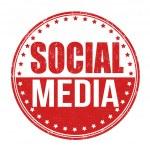 Social media stamp — Stock Vector #51225185