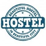 Hostel stamp — Stock Vector #51225489