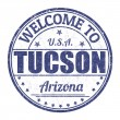 ������, ������: Welcome to Tucson stamp