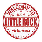 Welcome to Little Rock stamp — Stock Vector