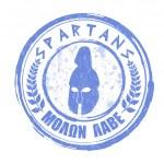 ������, ������: Spartans stamp