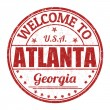 Welcome to Atlanta stamp — Stock Vector #51395469