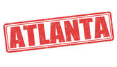 Atlanta stamp — Stok Vektör