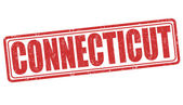 Timbre de connecticut — Vecteur