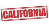 Timbre de californie — Vecteur