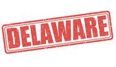 Delaware stamp — Stock Vector