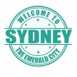 Welcome to Sydney stamp — Stock Vector #51418295