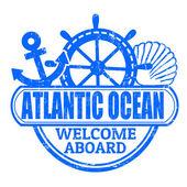 Pieczęć ocean atlantycki — Wektor stockowy
