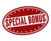 Special bonus stamp — Stock Vector