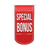 Special bonus banner design — Stock Vector