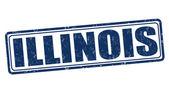 Illinois damgası — Stok Vektör