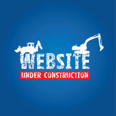 Website construction background — Stock Vector