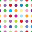 Polkadots — Vector de stock