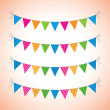 Bunting — Stock Vector #23674819