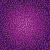 Number background — Stock Vector