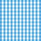 Blue gingham background — Stock Vector