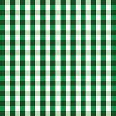 Green gingham background — Stock Vector