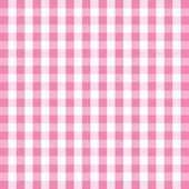 Pink gingham background — Stock Vector