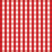 Red gingham background — Stock Vector