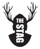 The stag — Stock Vector